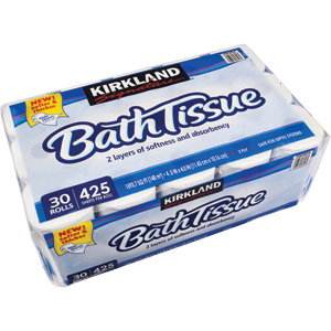 - 2-Ply Bathroom Tissue - 425 Sheets Per Roll - 6 Rolls Per Pack (Rolls Are Not Individually Wrapped) - 5 Packs - 30 Rolls Total