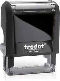 "Custom Stamp 4911, Trodat 4911, 1-1/2"" x 9/16"", Designed by Madill"