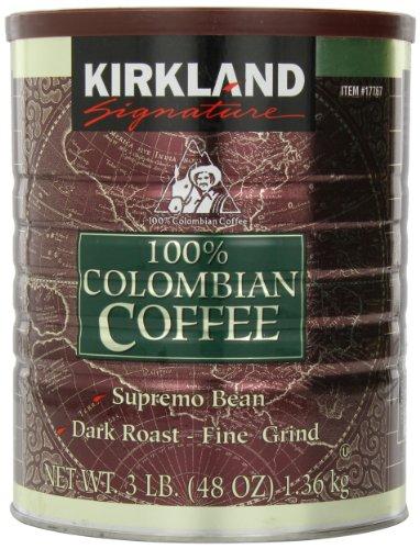 Kirkland Signature Columbian Coffee