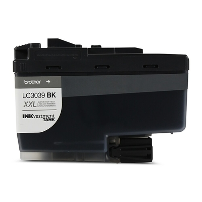 Brother Black Ultra High Yield Inkvestment Ink Cartridge - 6,000 Page Yield
