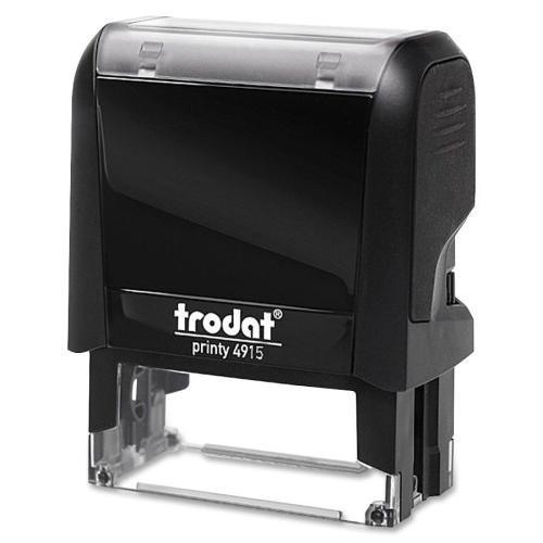Trodat 4915 Custom Self Inking Stamp. Prepared by Madill