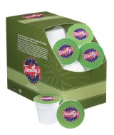 Timothy's K-Cups, Chinese Green Decaf Tea, 24 K-Cups per Box, K-Cup