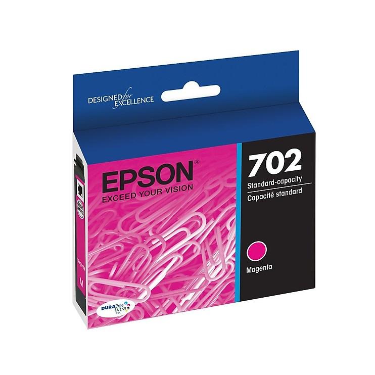 EPSON DURABrite Ultra Magenta Ink Cartridge w/Sensormatic WF-3720